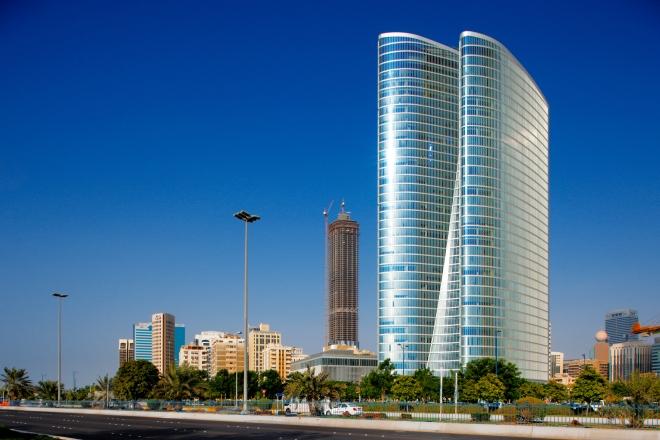 skyscraper in Abu Dhabi