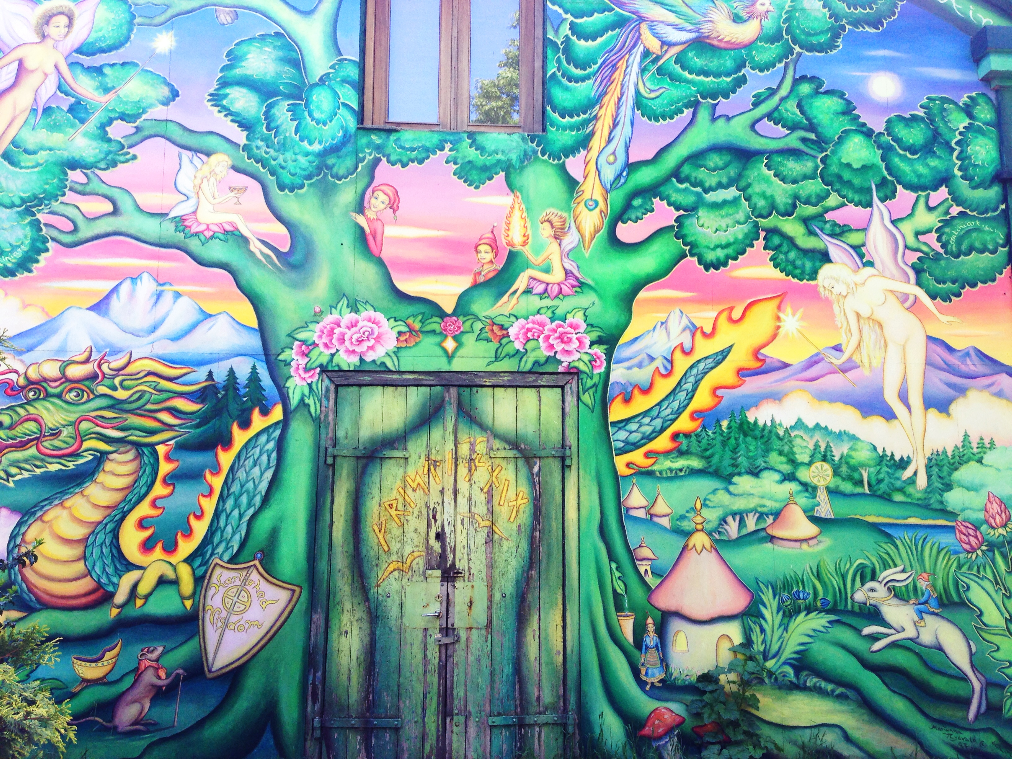 christiania wall mural