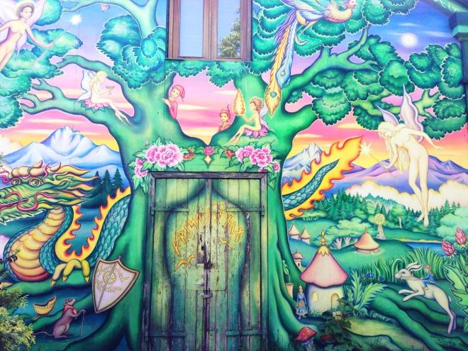 christiania wall mural