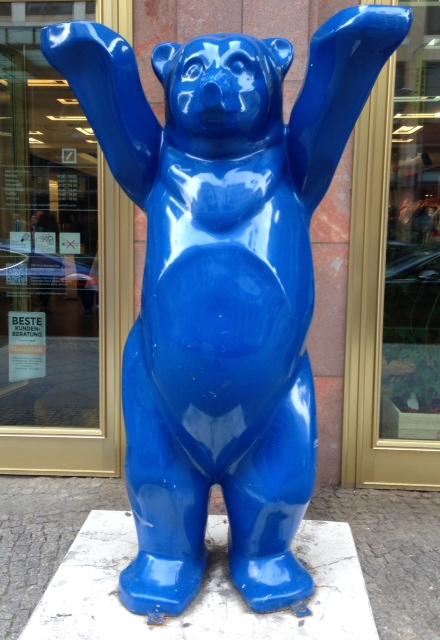 Blue Berlin Buddy Bear