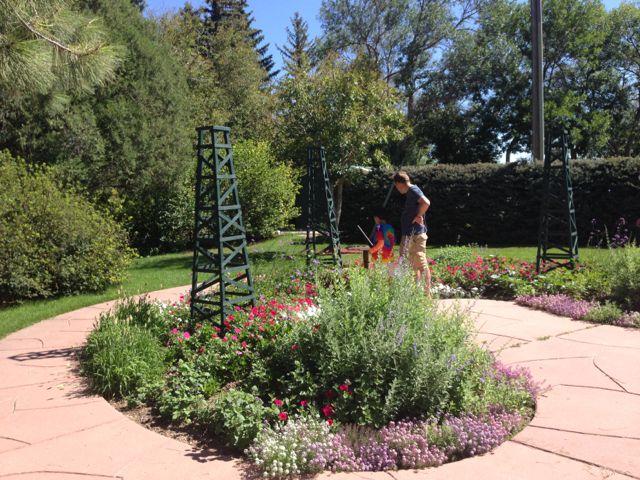 Cheyenne botanic garden