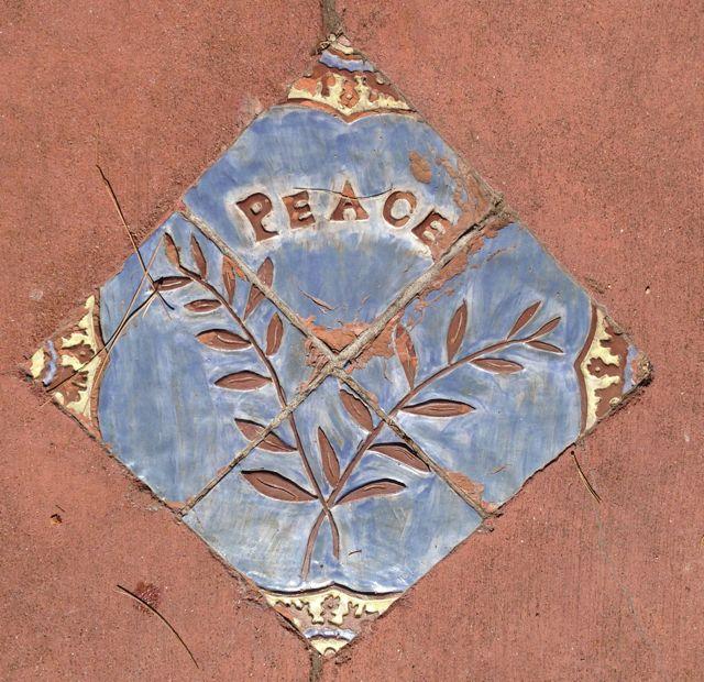 peace tile