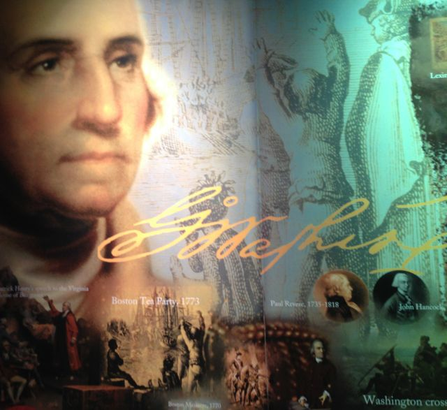 washington exhibit at rushmore