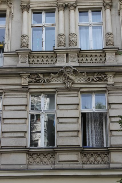 traditional building facade in berlin