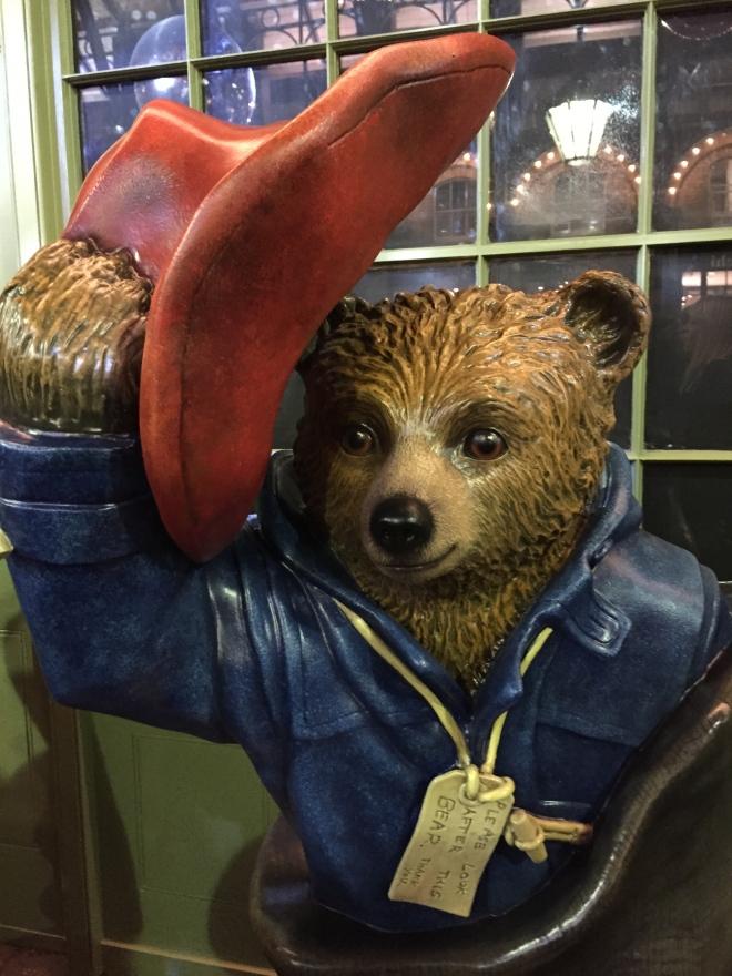 Paddington Bear Trail Special Delivery Bear