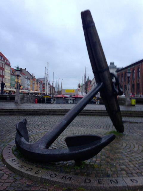 Memorial Anchor Nyhavn
