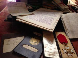 original Hussey letters