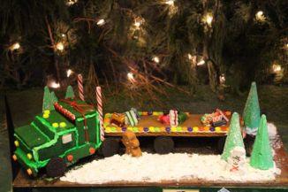 gingerbread mack truck