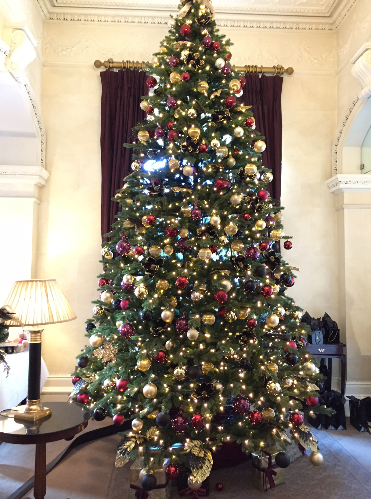 sherbourne hotel christmas tree