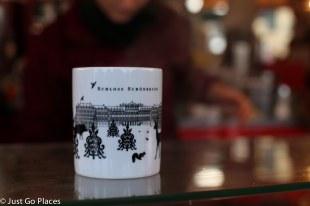 Schönbrunn market mug