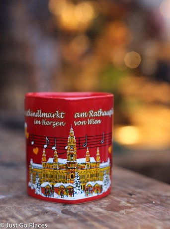 Christkindl Market Gluwein Mug