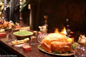 christmas turkey fireplace