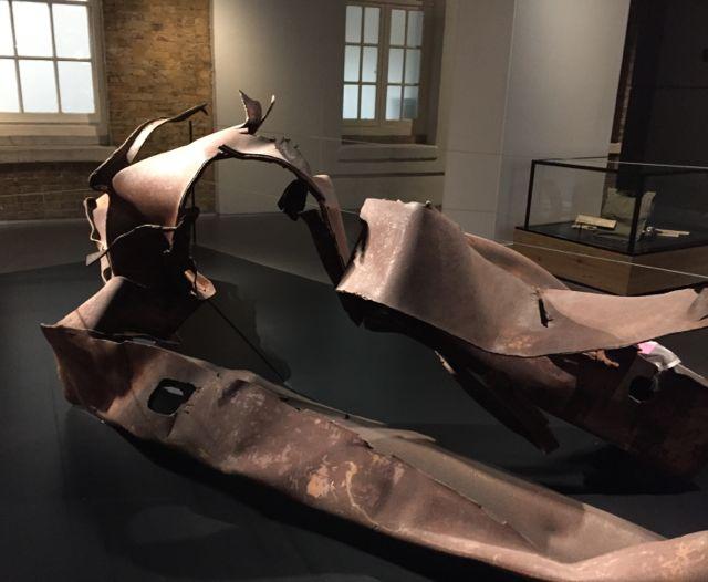 9/11 steel sculpture