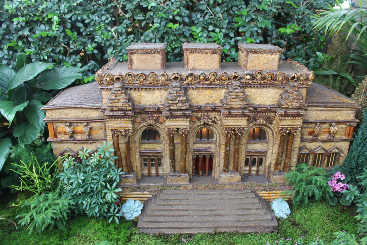New York city public library train show