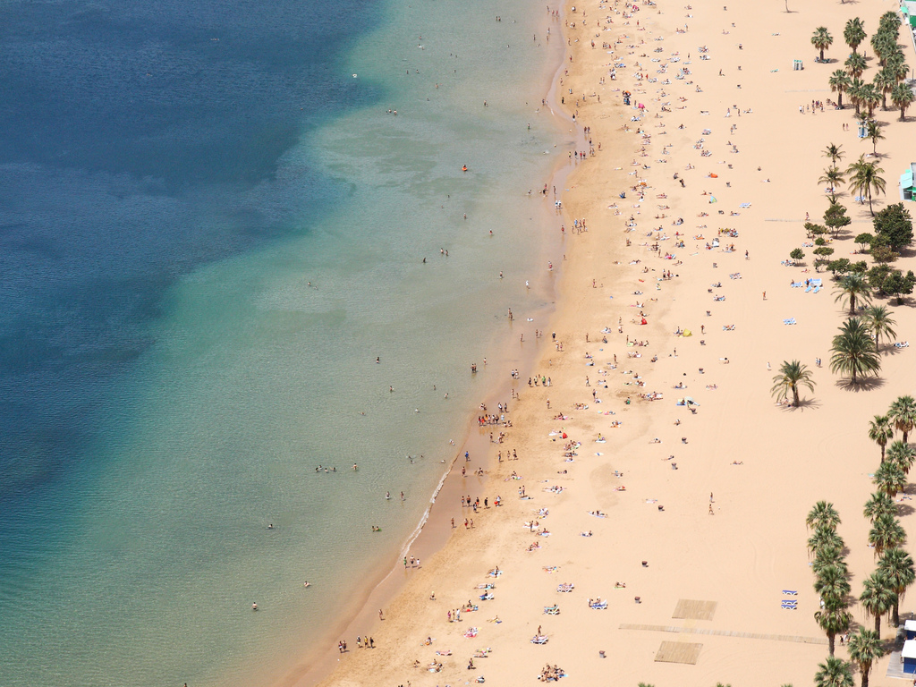 yellow sand beach tenerife