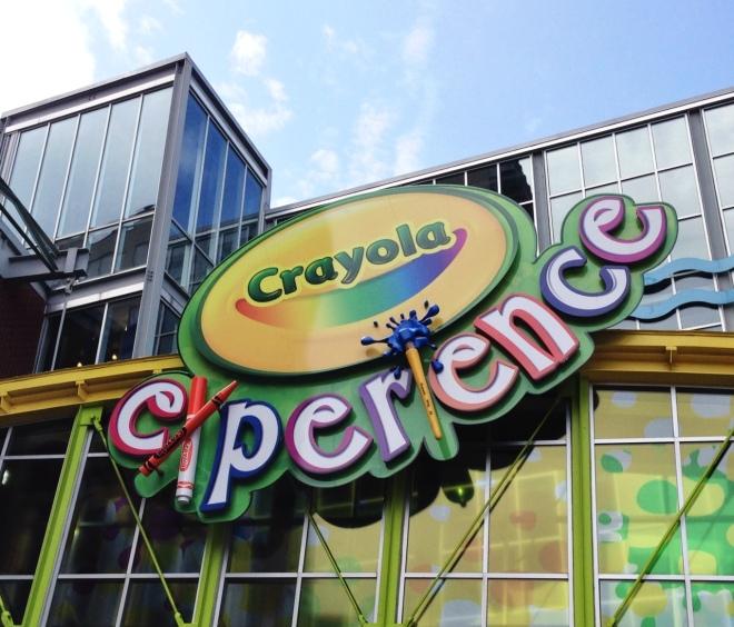 crayola experience building
