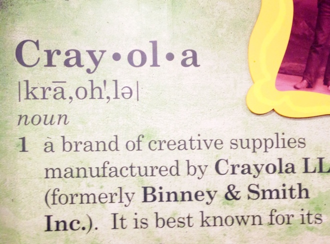definition of crayola