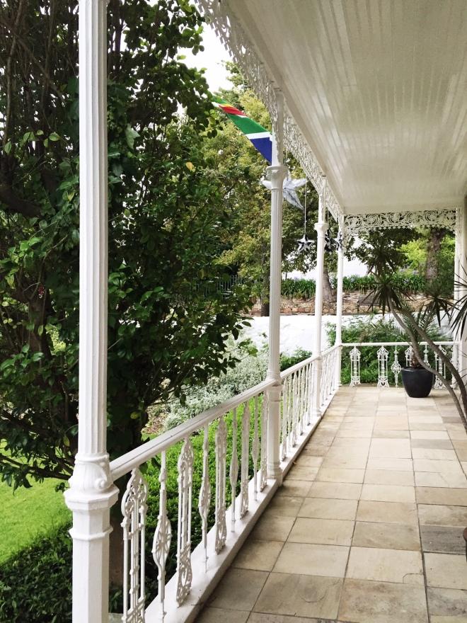schoone oordt front porch