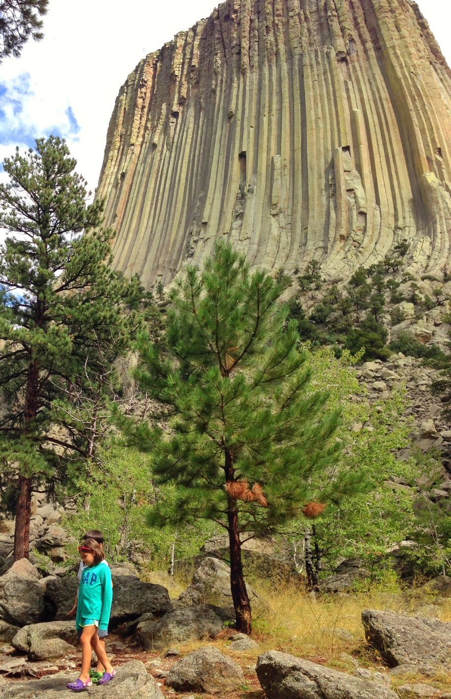 Devils Tower grounds