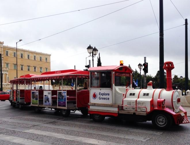 Athens Toy Train