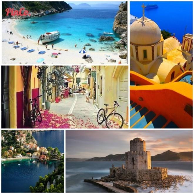 Just Go Greece Pinterest Board