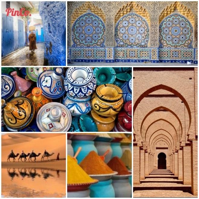 Just Go Morocco pinterest board