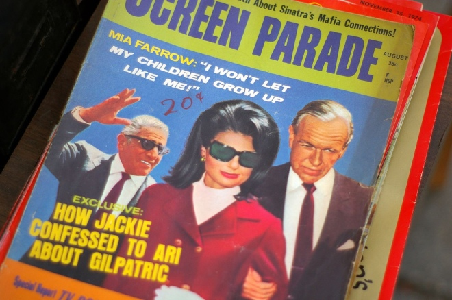 Screen Parade with Jackie O cover