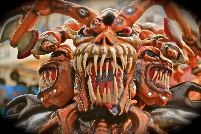 Dominican Carnival costume