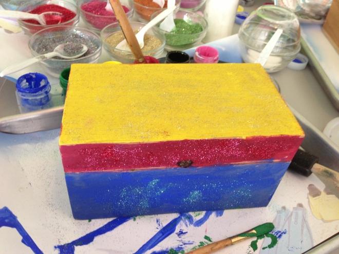 beaches resort craft box