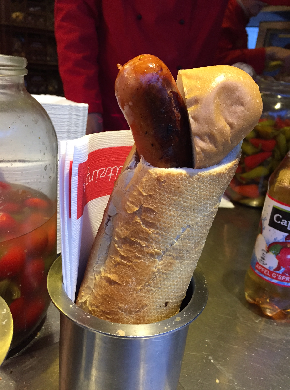 kasekrainer sausage