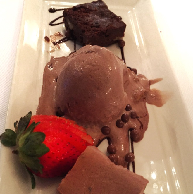The Big Easy chocolate dessert