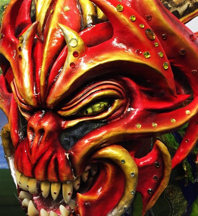 domincan carnival costume