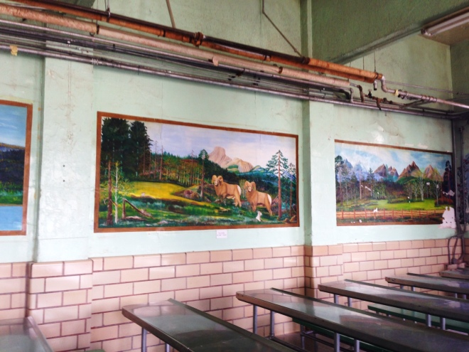 Dining Hall at the Wyoming State Penitentiary