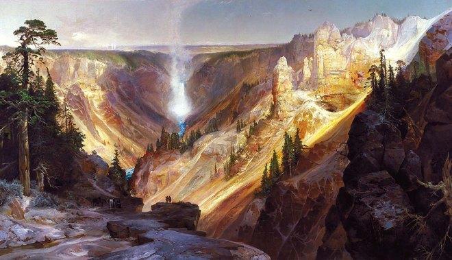 Thomas Moran painting
