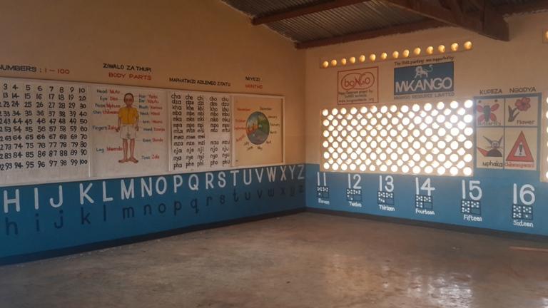 Malawi class room