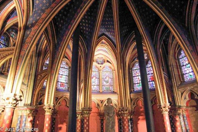 Sainte Chapelle interior