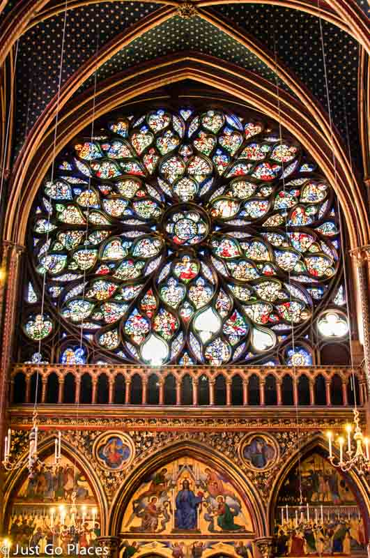 sainte chapelle rose window