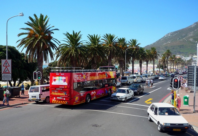 Cape Town tour bus