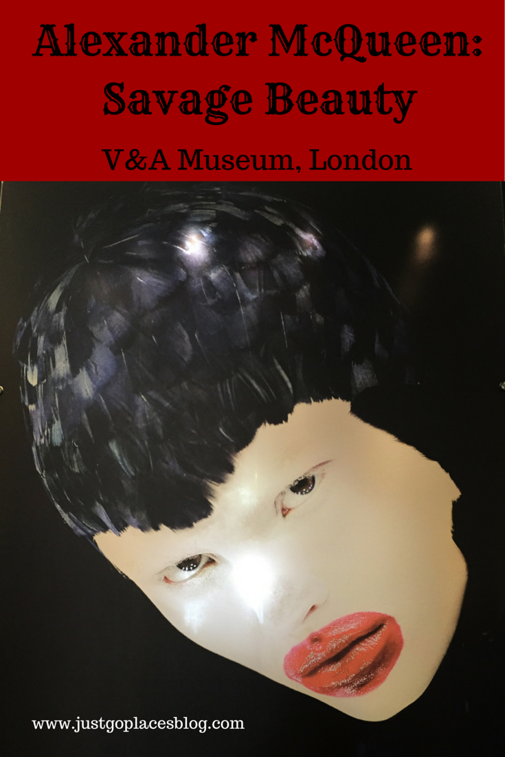 Alexander McQueen Savage Beauty Exhibit at V&A Museum in  London