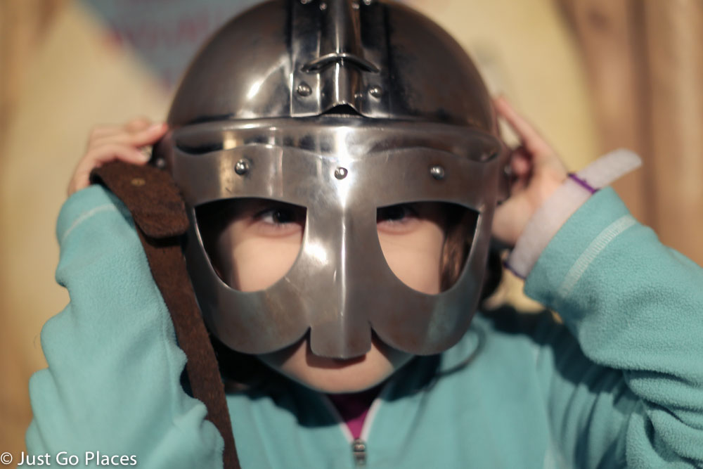 dublinia viking helmet