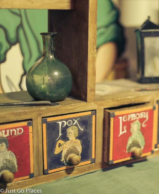 Dublinia medieval fair medicine