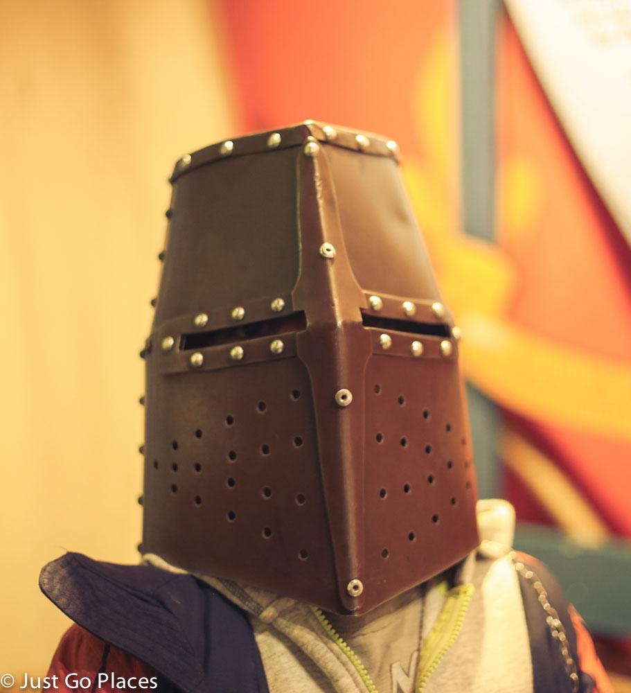 Dublinia medieval helmet