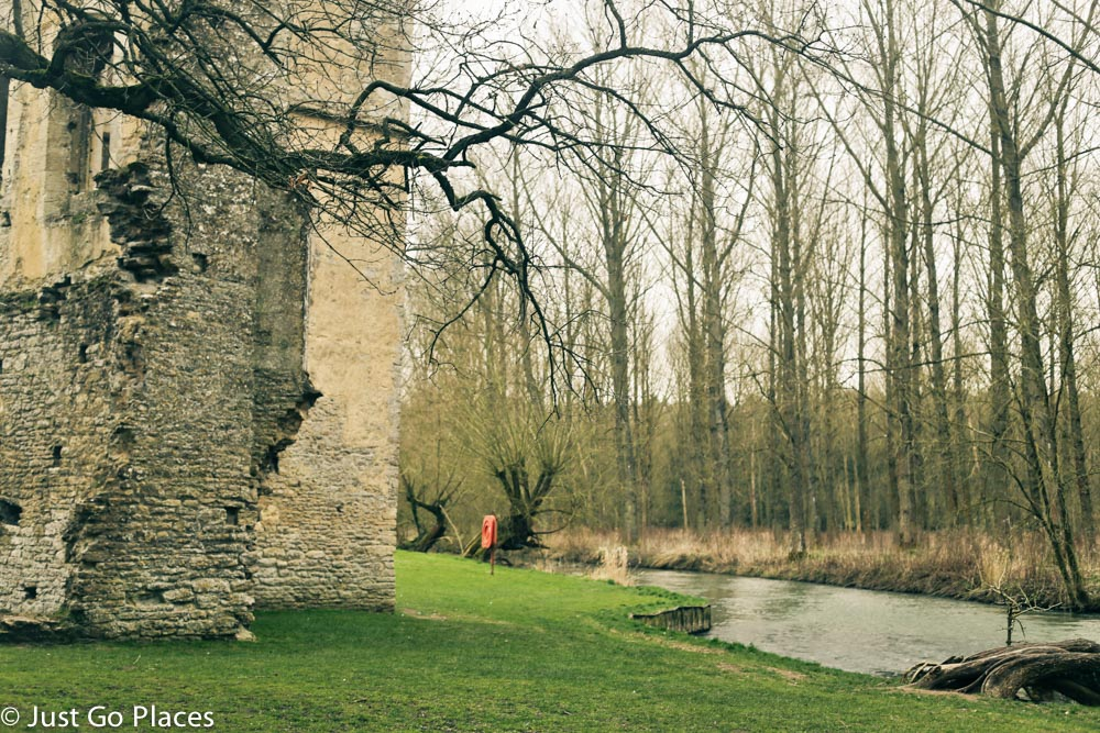 minster lovell hall and the wind rush river