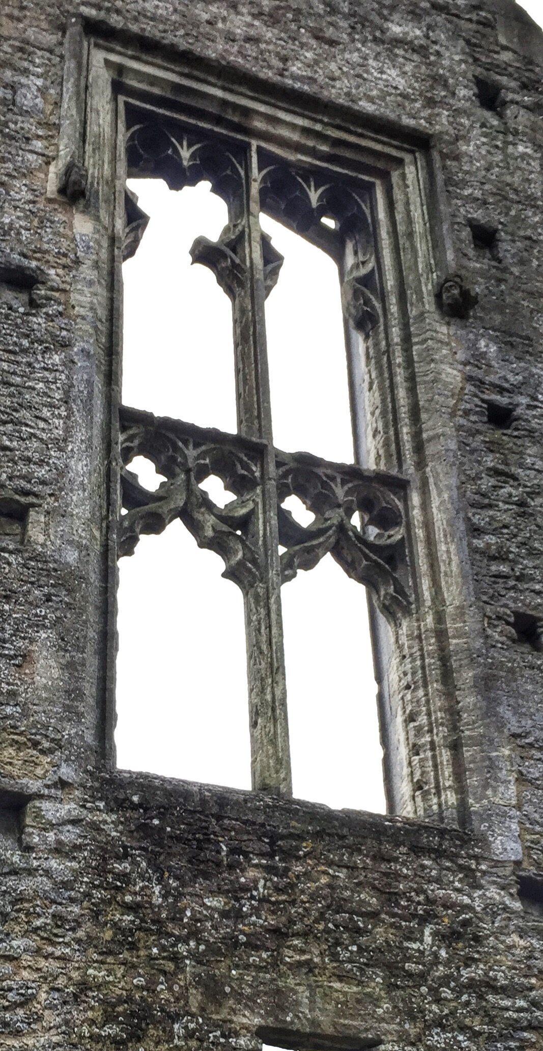 Minster lovell hall window