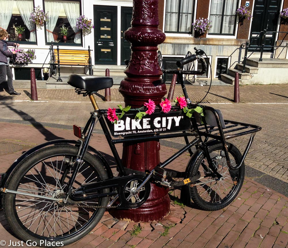Bike City in Amsterdam.