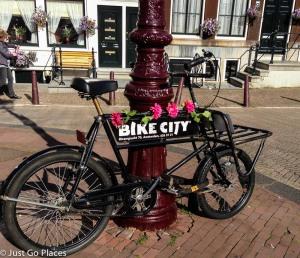 Bike City in Amsterdam.
