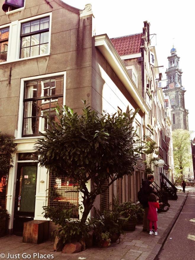 The Jordaan in Amsterdam