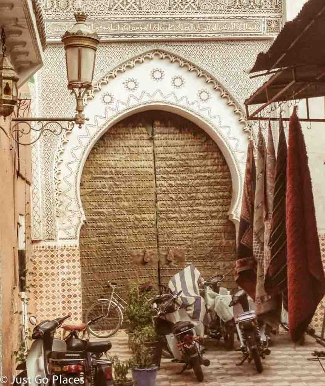 marrakech mosque door