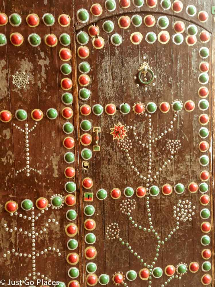 marrakech studded door