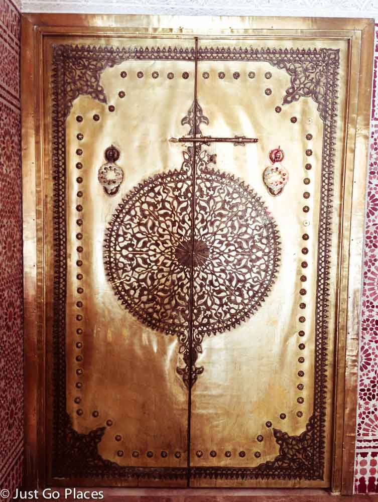 marrakech brass door